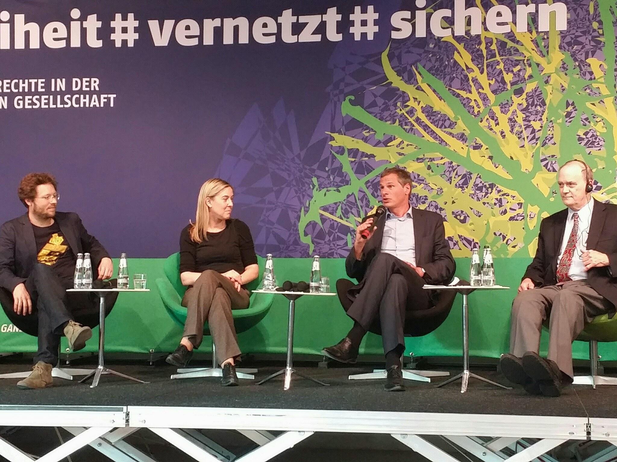 Schnell gebloggt: Eindrücke vom Netzpolitischen Soirée 2014